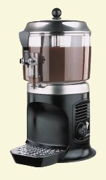 Аппарат для горячего шоколада Ugolini DELICE BLACK, 5 л, черный