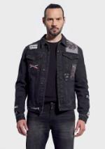 Джинсовая куртка Kaporal Izuka чёрная XL