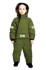 Зимний комбинезон BASK kids Space зеленый 92