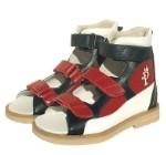 Ортопедические сандалии Prince Pard красные 26