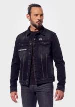 Джинсовая куртка Kaporal Ibrid чёрная M