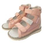 Ортопедические сандалии Prince Pard розовые 28
