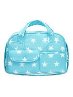 Сумка для мамы FIM 6688-1-1/ , Звезды, голубой