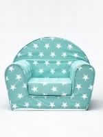 Детское кресло бескаркасное FIM 4478-4-1/, Звезды, зеленый