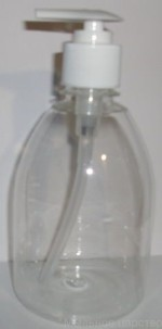 ПЭТ-бутылка Жидкое мыло 0,5 л