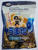 Снеки из морской капусты в кляре с морской солью (Япония) 60 шт.