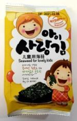 Сушеная морская капуста для детей, без добавок (72 шт.)