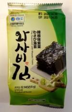 Сушеная морская капуста со вкусом васаби (72 шт.)
