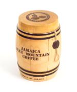 Кофе в зёрнах Ямайка Блю Маунтин в бочонке, 200 г. оригинальный подарок